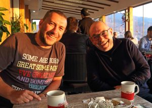 Old friends and new in Sarajevo