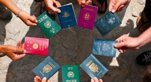 Passports from around the world
