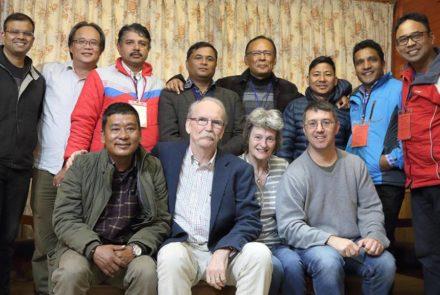 Kathmandu planning team
