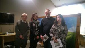 Meeting attendees in Harrogate