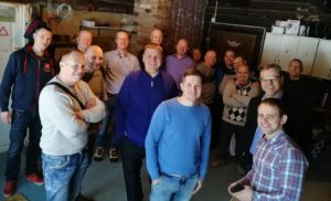 Leaders of 10 organizations who run rehabs in Estonia on our prayer day