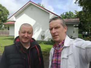 (Left) Renno Rannamäe, Salvation Army program director. (Right) Viljam Borissenko, Public Foundation of Hope